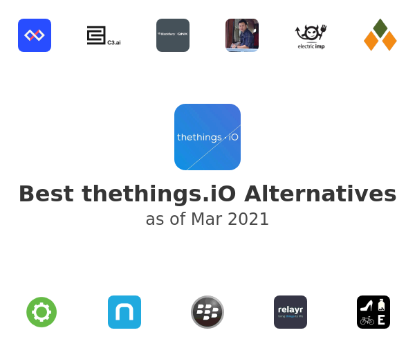 Best thethings.iO Alternatives