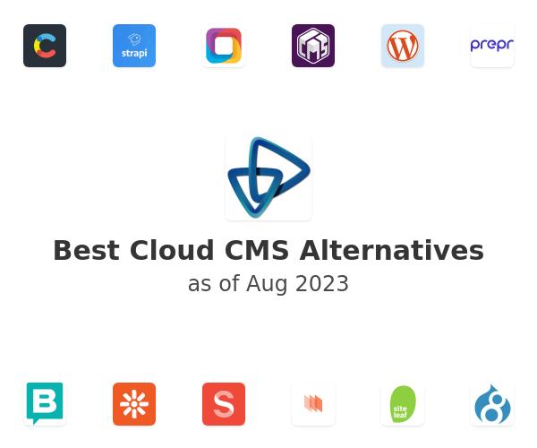 Best Cloud CMS Alternatives