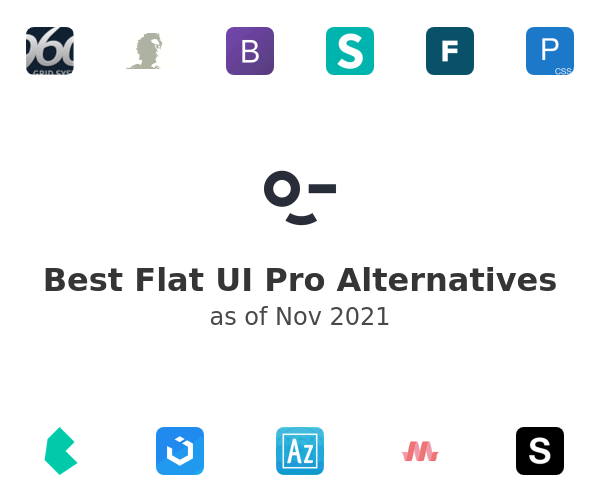 Best Flat UI Pro Alternatives