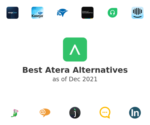 Best Atera Alternatives