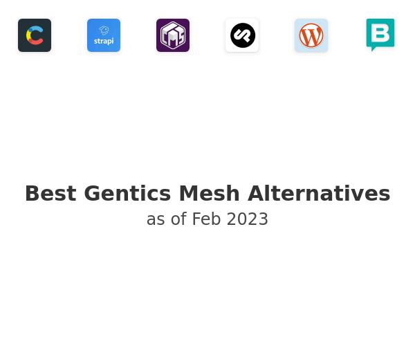 Best Gentics Mesh Alternatives