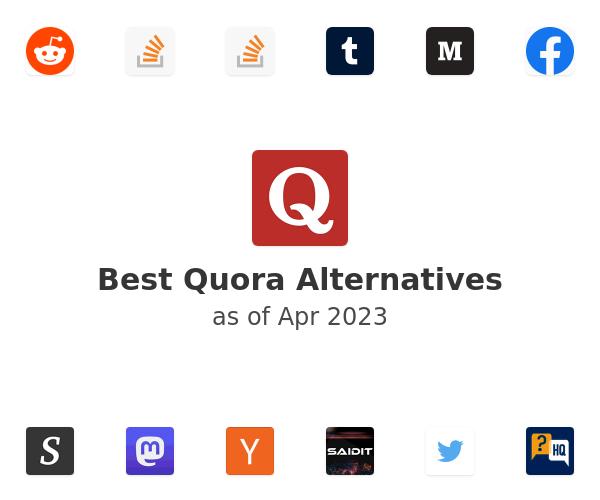 Best Quora Alternatives