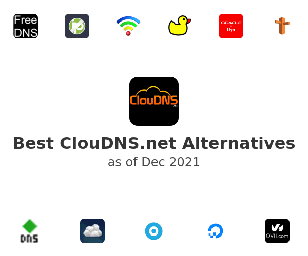 Best ClouDNS.net Alternatives