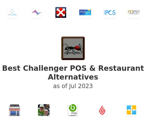 Best Challenger POS & Restaurant Alternatives