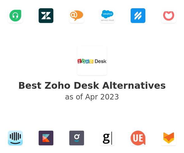 Best Zoho Desk Alternatives