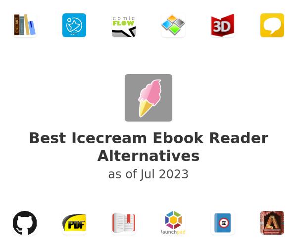 Best Icecream Ebook Reader Alternatives