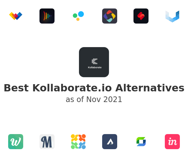 Best Kollaborate.io Alternatives