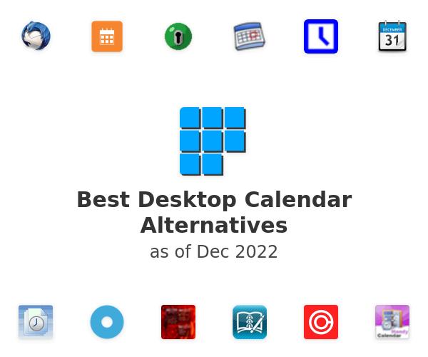 Best Desktop Calendar Alternatives