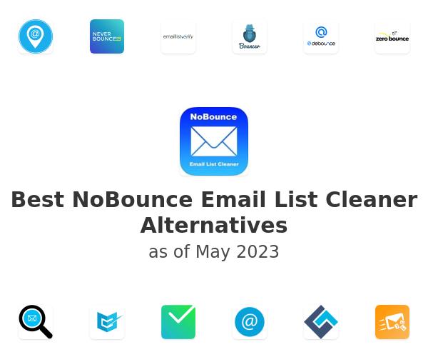 Best NoBounce Email List Cleaner Alternatives