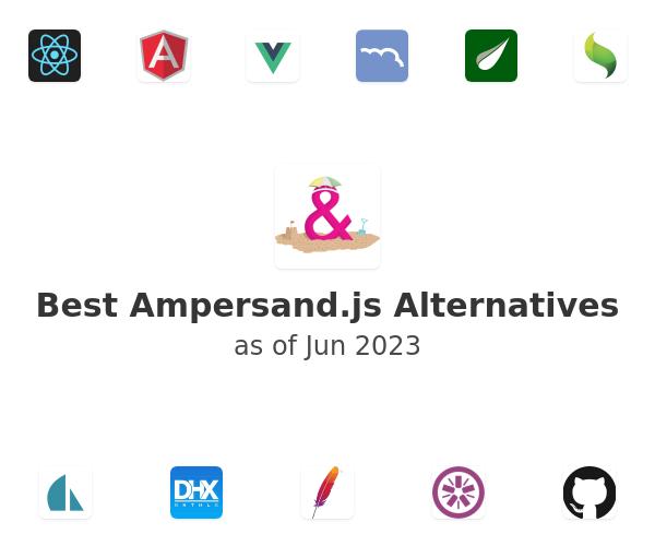 Best Ampersand.js Alternatives