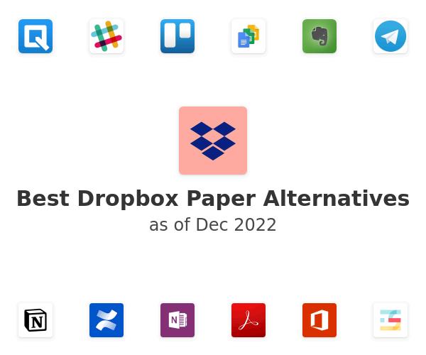 Best Dropbox Paper Alternatives