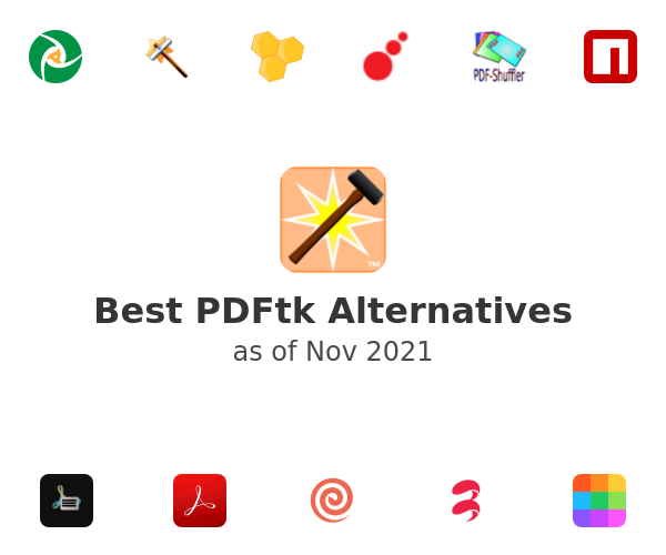 Best PDFtk Alternatives