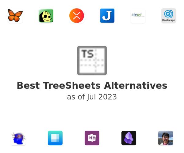 Best TreeSheets Alternatives