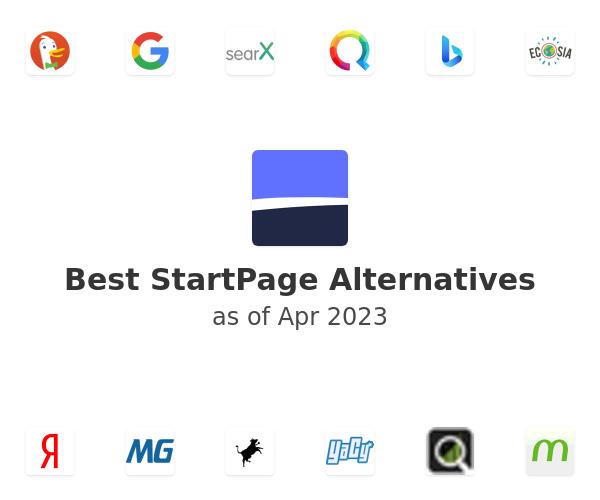Best StartPage Alternatives