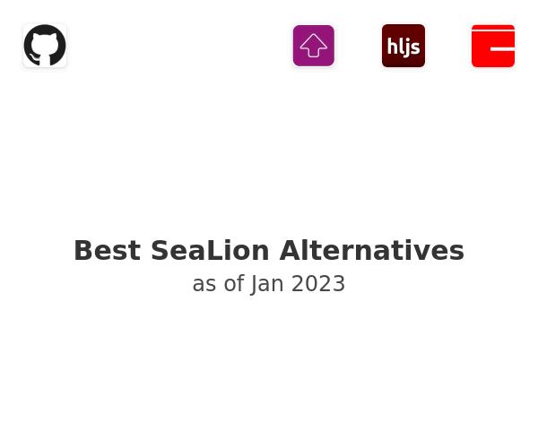 Best SeaLion Alternatives