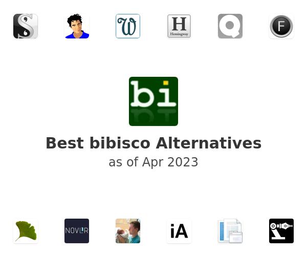 Best bibisco Alternatives