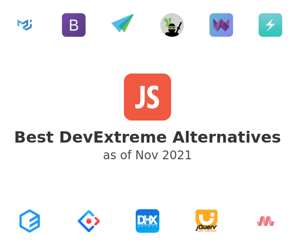Best DevExtreme Alternatives