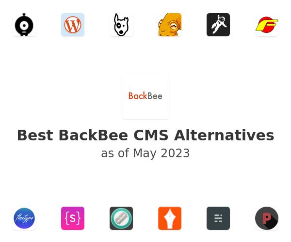 Best BackBee CMS Alternatives