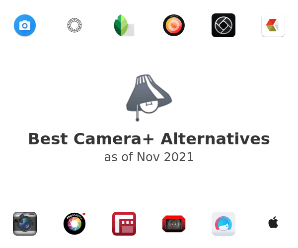 Best Camera+ Alternatives