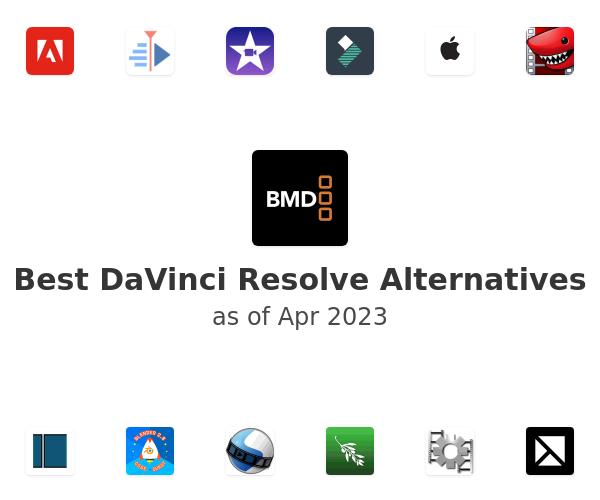 Best DaVinci Resolve Alternatives