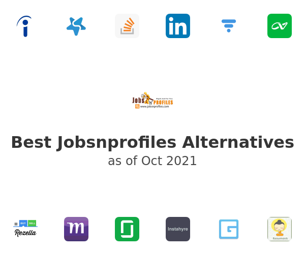 Best Jobsnprofiles Alternatives
