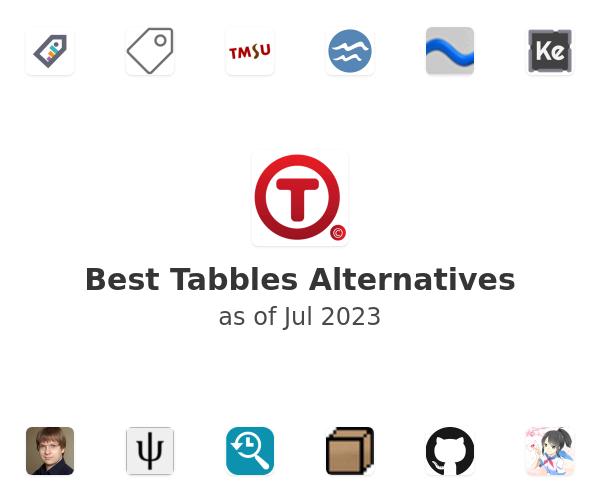 Best Tabbles Alternatives