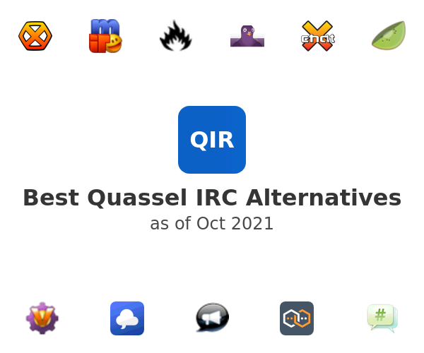 Best Quassel IRC Alternatives
