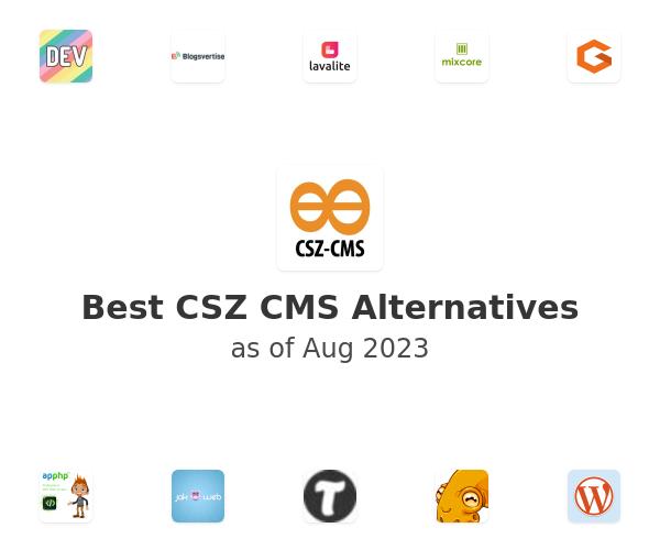 Best CSZ CMS Alternatives