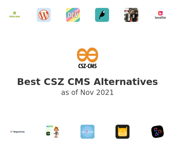 Best CSZ CMS Alternatives