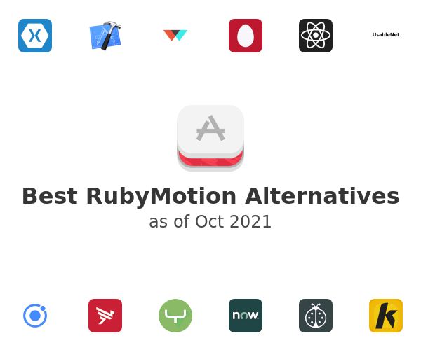 Best RubyMotion Alternatives