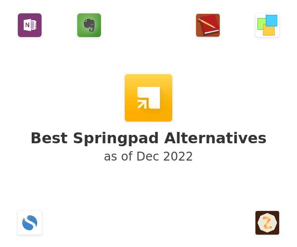 Best Springpad Alternatives
