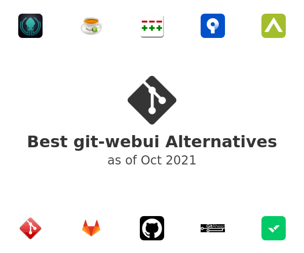 Best git-webui Alternatives