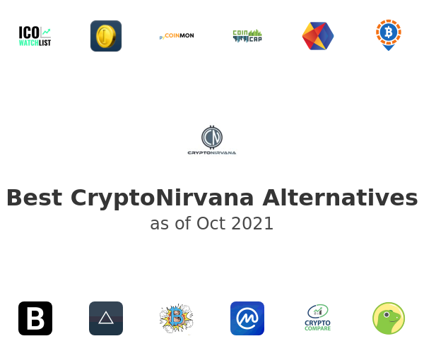 Best CryptoNirvana Alternatives