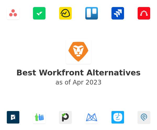 Best Workfront Alternatives