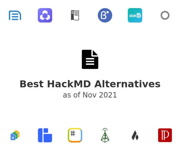 Best HackMD Alternatives