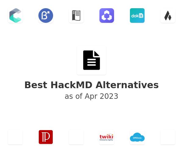 Best HackMD Alternatives
