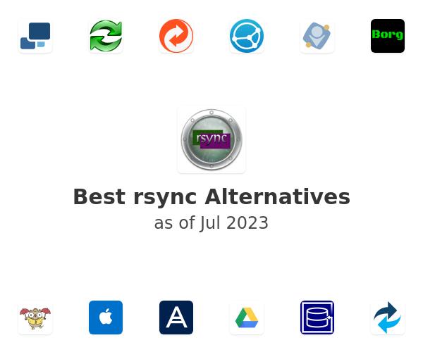 Best rsync Alternatives