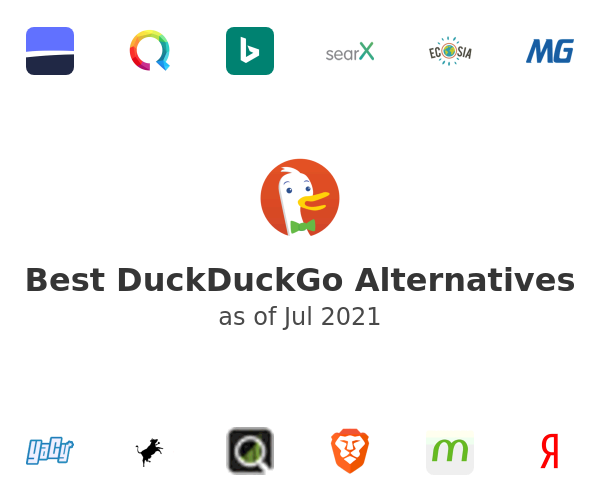 Best DuckDuckGo Alternatives