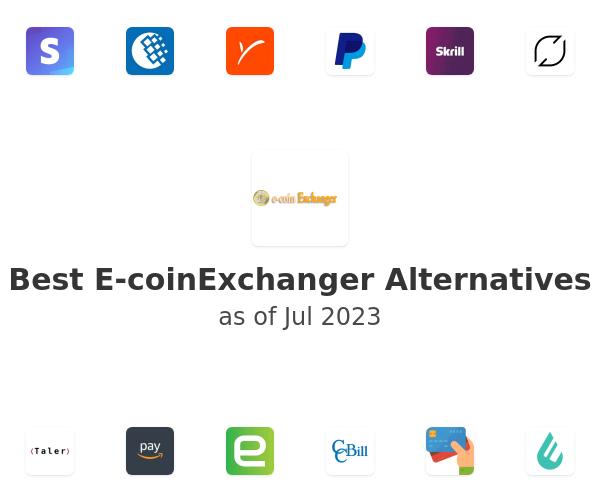 Best E-coinExchanger Alternatives