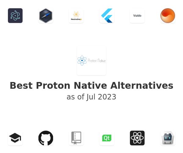 Best Proton Native Alternatives