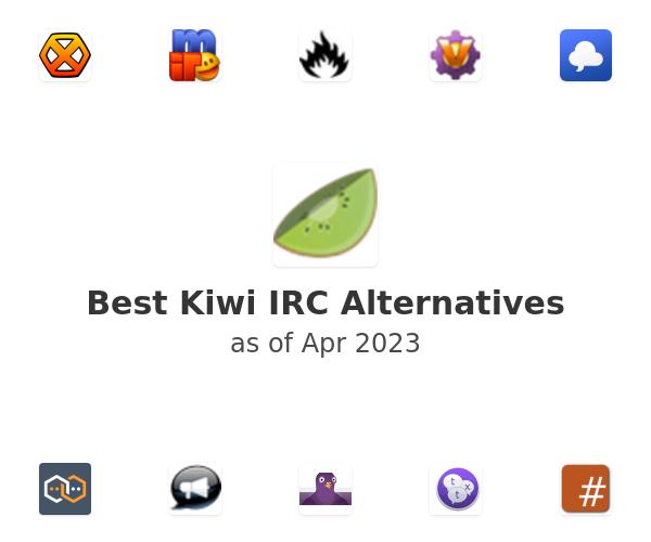 Best Kiwi IRC Alternatives