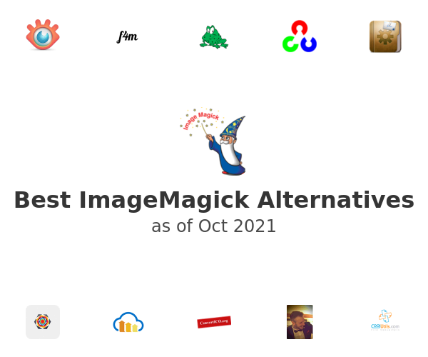 Best ImageMagick Alternatives