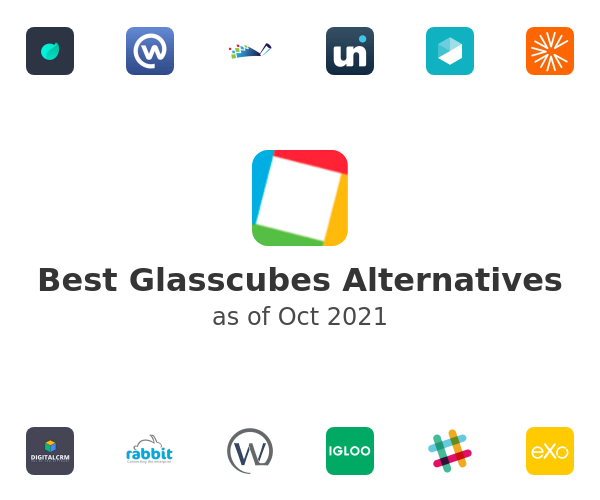 Best Glasscubes Alternatives
