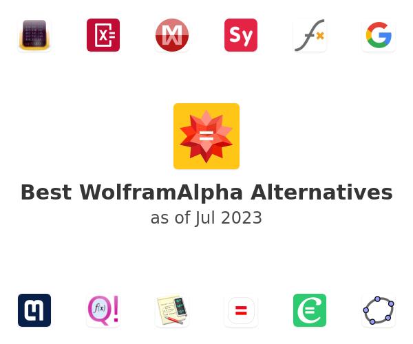 Best WolframAlpha Alternatives