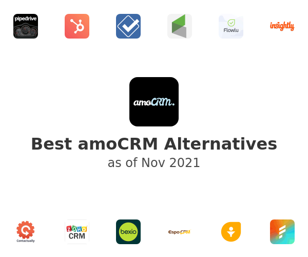 Best amoCRM Alternatives