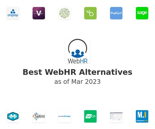 Best WebHR Alternatives