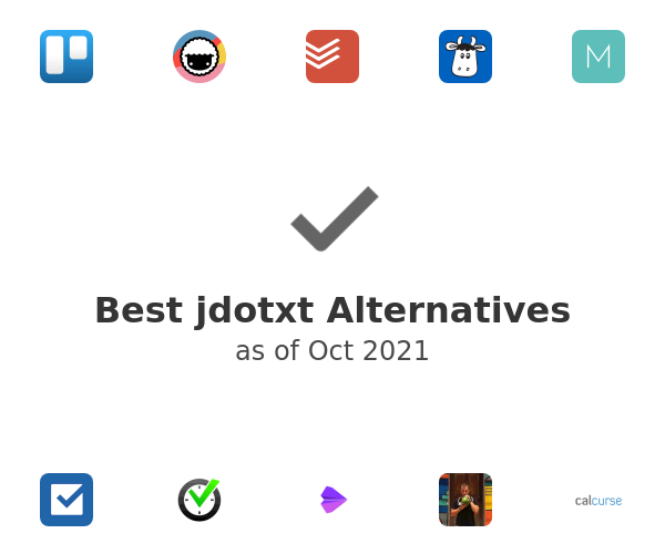 Best jdotxt Alternatives