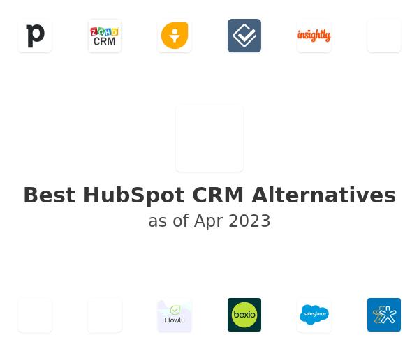 Best HubSpot CRM Alternatives