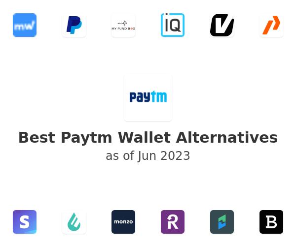 Best Paytm Wallet Alternatives