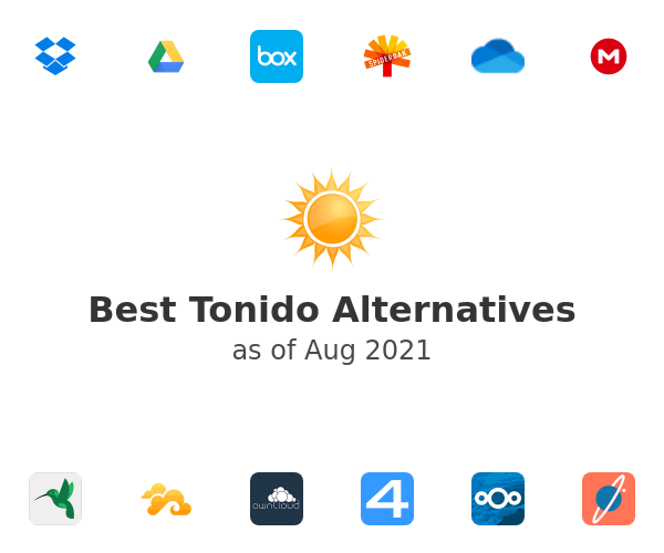 Best Tonido Alternatives